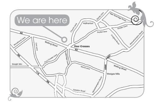 La MInky location map